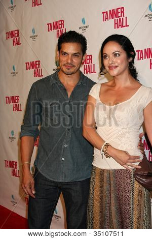 LOS ANGELES - SEP 6:  Nicholas Gonzalez, Marisa Ramirez arriving at the