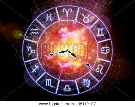 Sternzeichen-Zeit