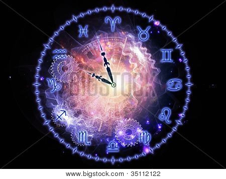 Horoscope Clock