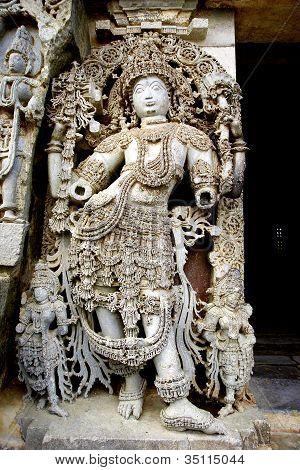 Hoysala Temple, Halebidu, Karnataka, India