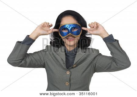 Business Mask Woman