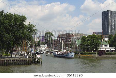 Veerhaven In Rotterdam
