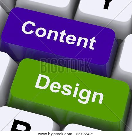 Content And Design Keys Show Creative Promotion