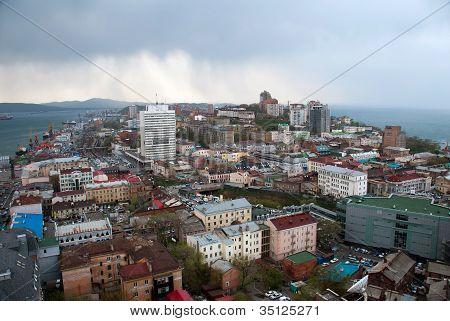 View Of Vladivostok City