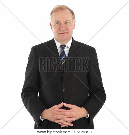 Friendly Middle-aged Businessman