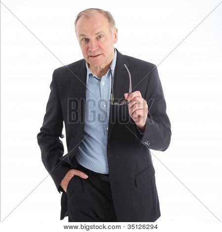 Assertive Talkative Businessman