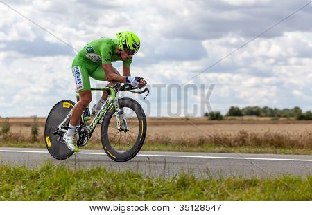 The Cyclist Sagan Peter
