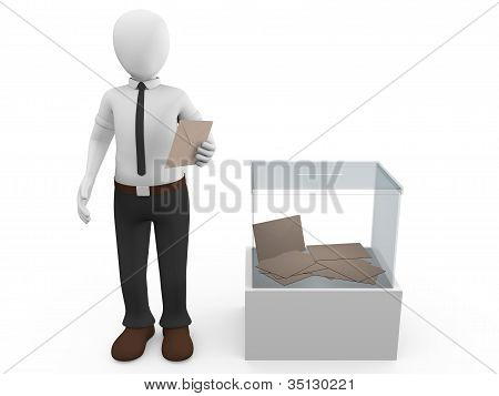 Ballot Box Man