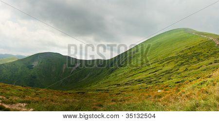 Goverla, Mountain, Panorama