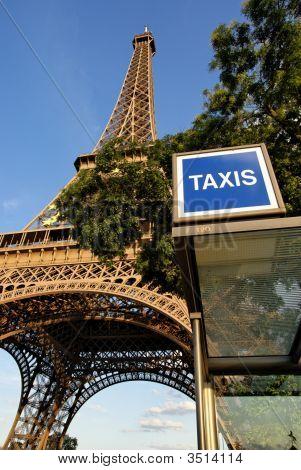 Parisian Taxi Stand