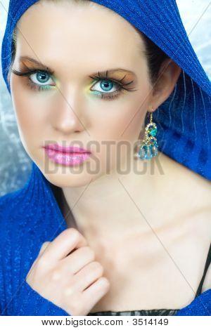 Fashion Make-Up Woman