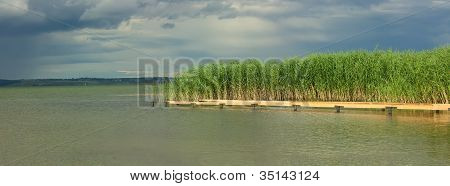 Green  Foreland Of Lake