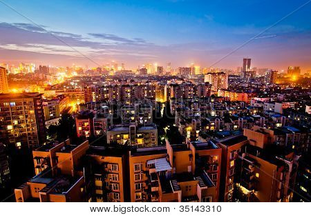 Chengdu at night
