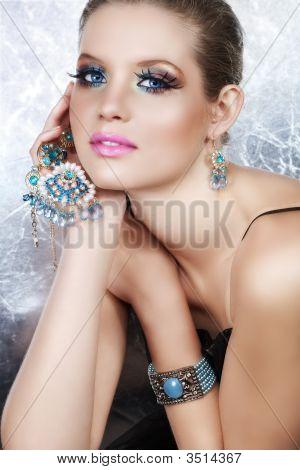 Rich Blond Woman