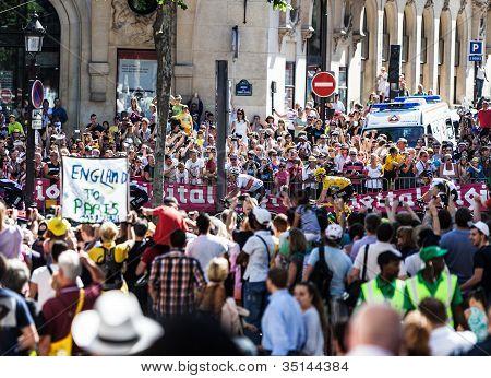 Le Tour Of France Crowd