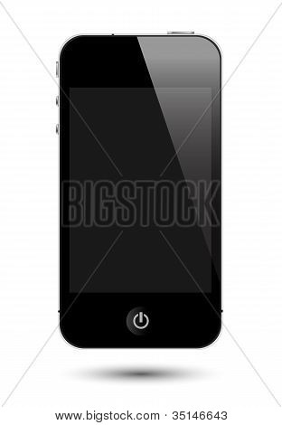 Touch Screen Smartphone Eps10 Vector Illustrations