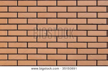 The Texture Of A Brick Wall.