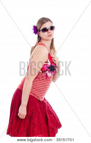 Summer Fashion Woman