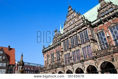 City Hall In Bremen