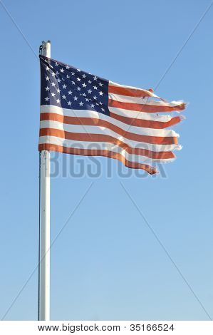 Frayed Flag