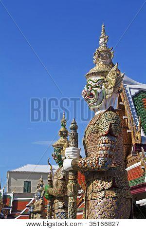 Wat Phra Kaew, Bangkok.