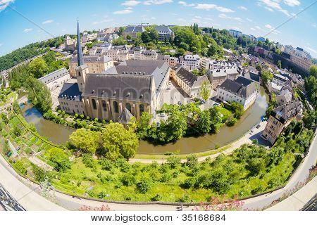 Luxembourg Panoramic View