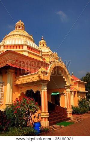 Shri Mahalaxmi Temple at Bandora Goa India