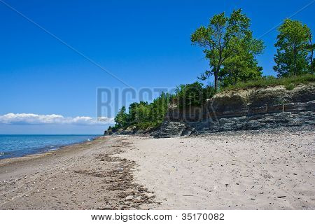 Coastline of Lake Erie