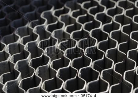 Metal grates- abstract image