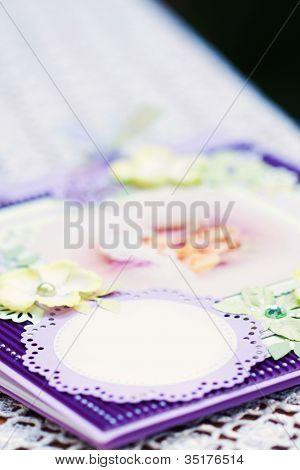 A Close Up Of A Bebe Wish Book