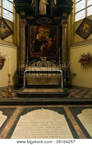 Peter Paul Rubens Tomb Grave Jacobskerk Antwerp