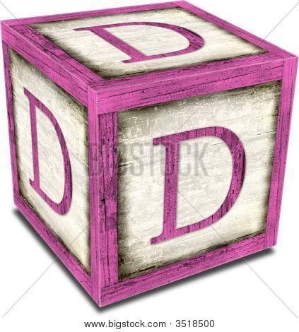 Alpha Block D Pink