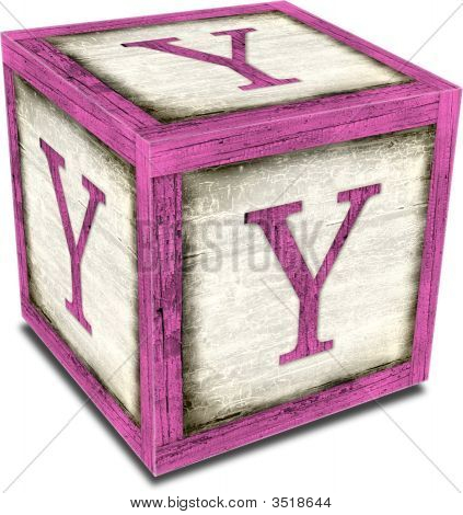 Alpha Block Y Pink