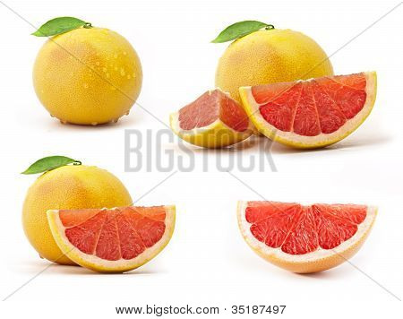 Collection of grapefruit
