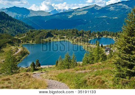 Lakes Colbricon, Dolomites