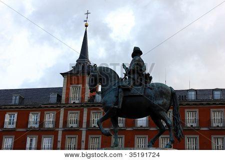 Plaza Mayor, Madrid, Portugal