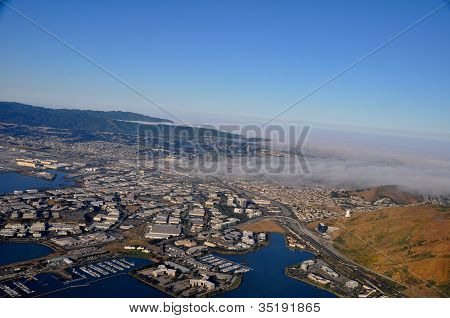 California - San Francisco Bay Area (aerial view)
