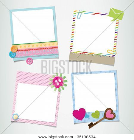 Design-ready photo frame