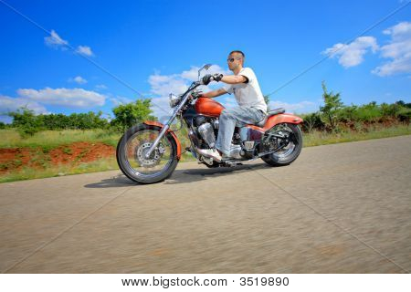 Rider On A Chopper