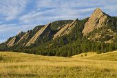 Flatiron Morning Light Boulder Colorado