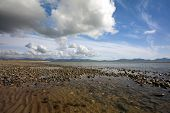 picture of anglesey  - Newborough Beach at Low Tide Anglesey - JPG