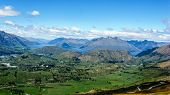 Coronet Peak view, near Queensland, New Zealand