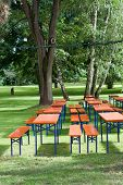 Beer tables and benches