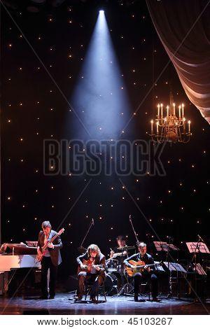 MOSCOW - APR 23: Roman Miroshnichenko at Ball Crystal Turandot, dedicated to anniversary of Svetlana Nemolyaeva in Vakhtangov Theatre on Apr 23, 2012 in Moscow, Russia.