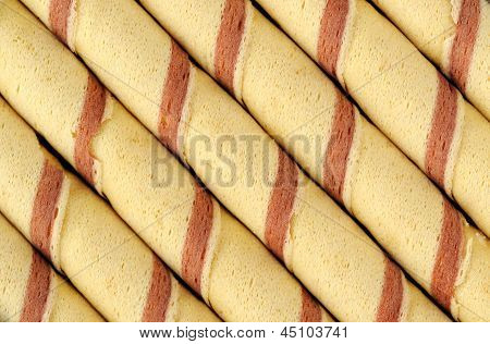 Wafer Roll Background