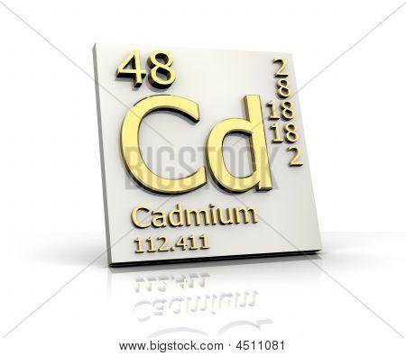 Cadmium Form Periodic Table Of Elements