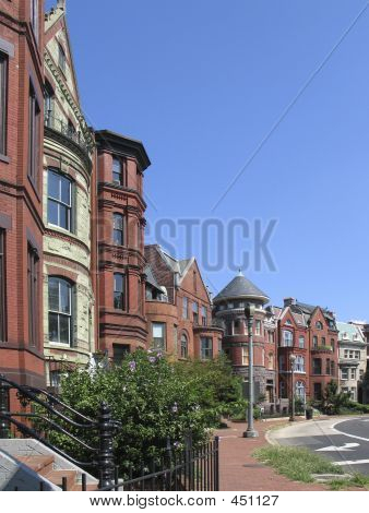Dc Victorian Row Houses Streettall