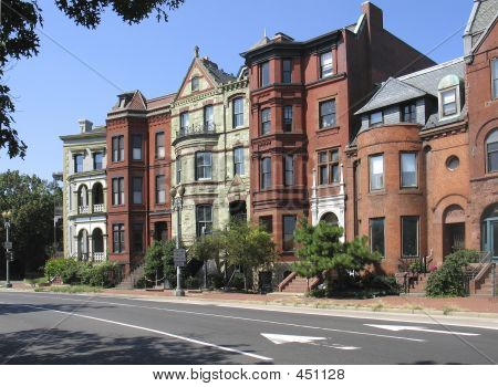Dc Victorian Rowhouses Street 2