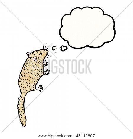 Ilustración del ratón de campo