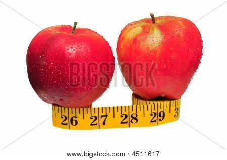 Two Apples On Tape